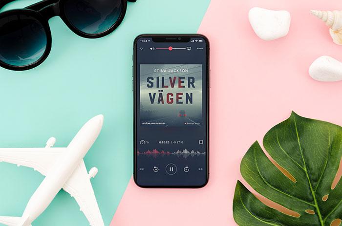 Nextory ljudbokspelare app