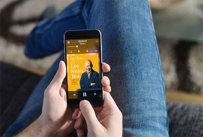 Storytel ljudbokspelare app